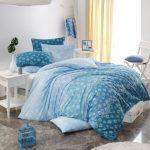 постельное белье синее