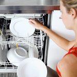 загрузка посуды в посудомойку