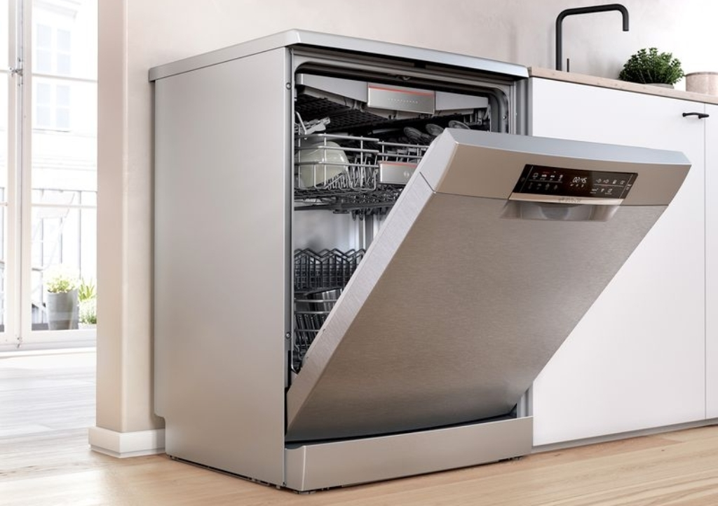 установка посудомоечной машины отдельностоящей
