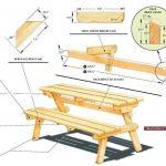 подробный чертеж стола-трансвормера