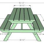 чертеж простого стола-трансформера