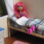 пример кровати для барби