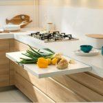 совмещенный стол на кухне