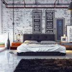 кровать меховой ковер