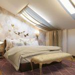 кровать со стоиком