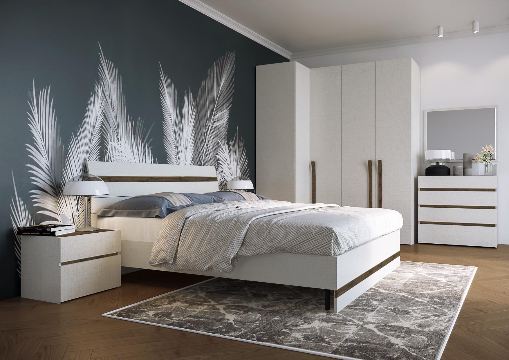 расположение кровати по феншую
