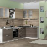кухонная мебель серая
