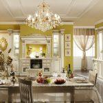 кухонная мебель желтая