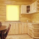 кухонная мебель светлое дерево