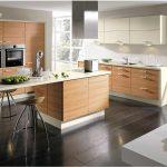 кухонная мебель с островом