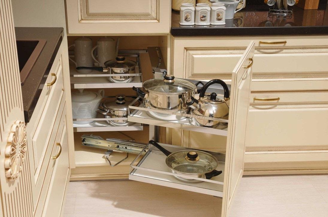 ширина кухонных ящиков