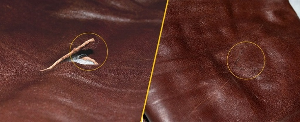 ремонт кожаной куртки клеем