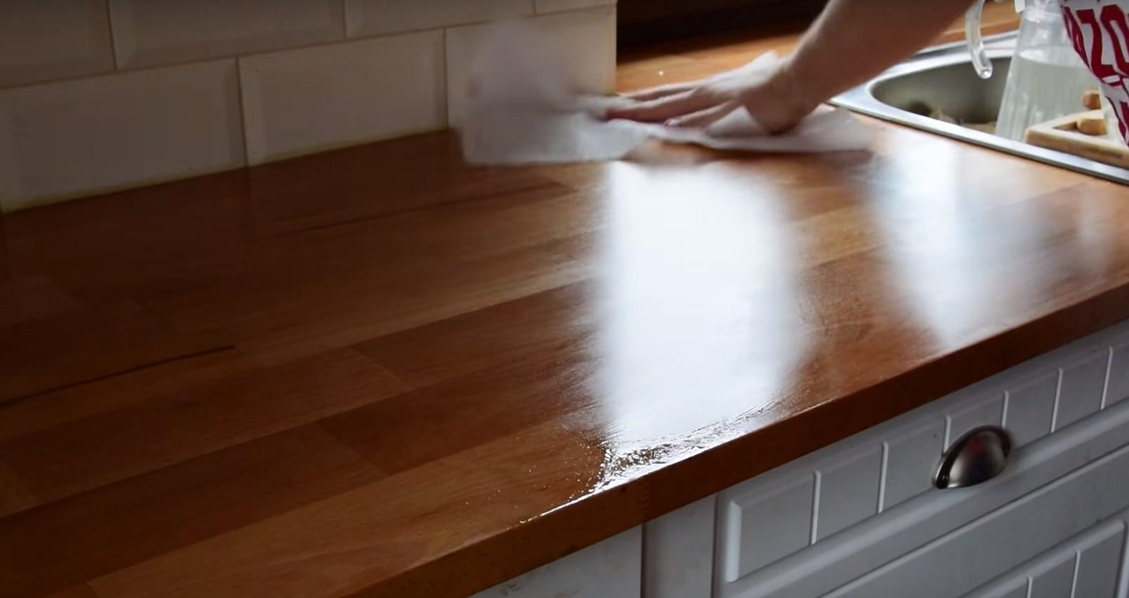 ремонт кухонной столешницы