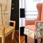 реставрация кресел и стульев фото декор