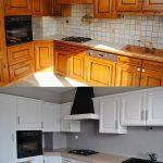 реставрация кухонного гарнитура фото декора