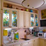 реставрация кухонного гарнитура декор идеи