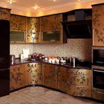 реставрация кухонного гарнитура идеи декор