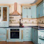 реставрация кухонного гарнитура интерьер фото
