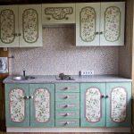 реставрация кухонного гарнитура фото интерьер