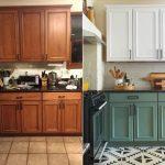реставрация кухонного гарнитура оформление идеи