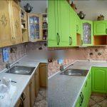 реставрация кухонного гарнитура идеи оформления