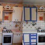 реставрация кухонного гарнитура фото варианты