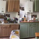 реставрация кухонного гарнитура обзор