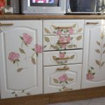 реставрация кухонного гарнитура виды декора