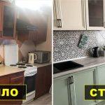 реставрация кухонного гарнитура дизайн идеи