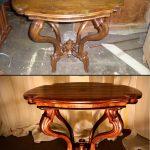 реставрировать стол