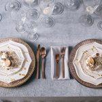 сервировка стола в итальянском стиле