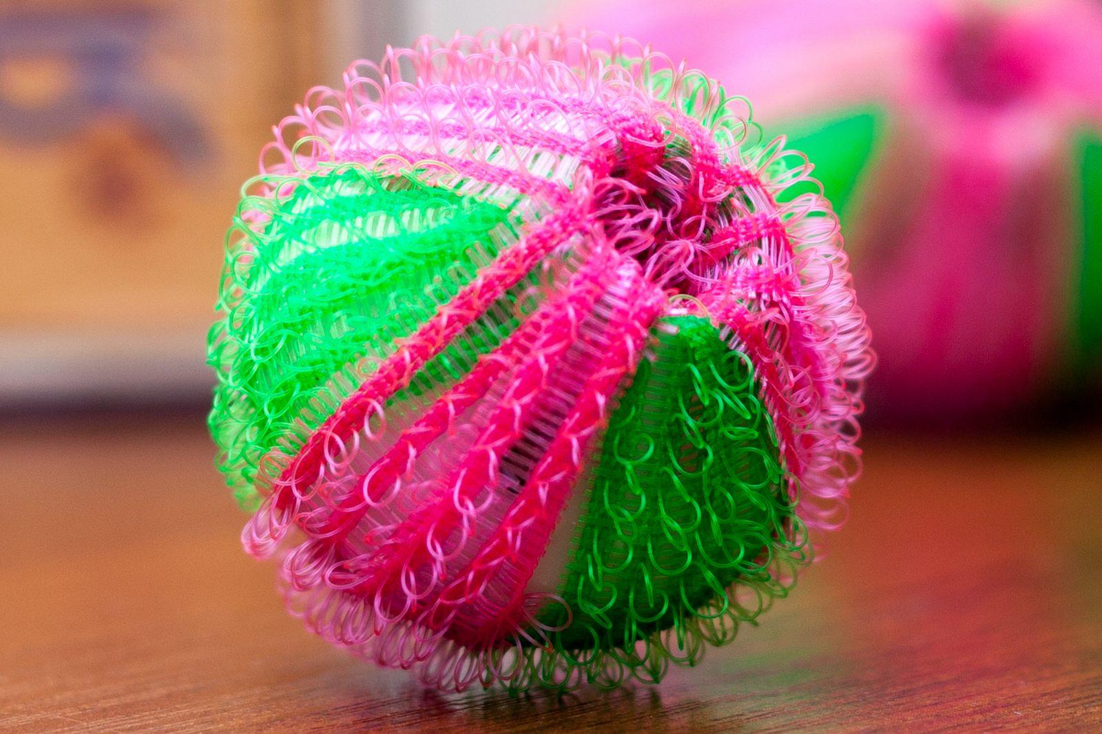 шарики с петельками