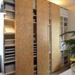 шкаф из фанеры широкий