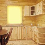 шкаф из фанеры кухонный