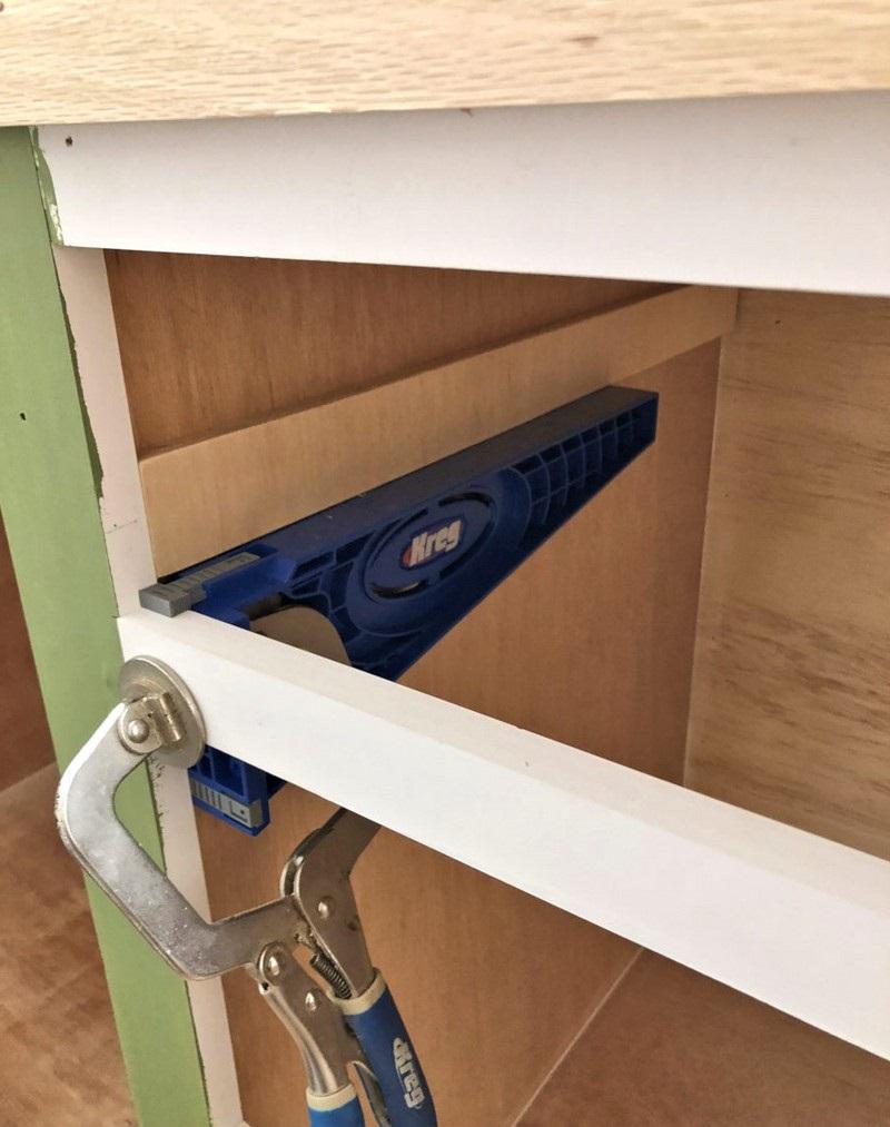 разметка деталей шкафа