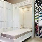 шкаф кровать трансформер оформление фото