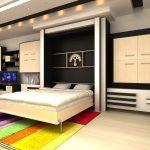 шкаф кровать трансформер оформление идеи