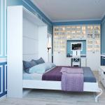 шкаф кровать трансформер идеи дизайн