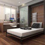 шкаф-кровать и рабочее место