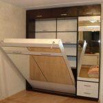 шкаф-кровать для небольшой комнаты
