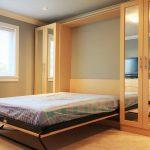 комната со шкафом-трансформером