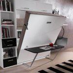 шкаф-кровать с предусмотренной рабочей зоной