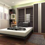 современный дизайн шкафа трансформера с кроватью