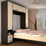 шкаф кровать из деревянного массива