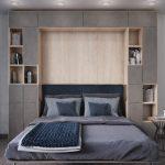 шкаф кровать в скандинавском стиле