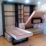 двойной шкаф-кровать