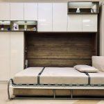 стильный дизайн для шкафа-кровати