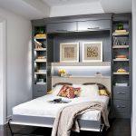 шкаф-кровать для узкой комнаты
