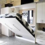 шкаф кровать белого цвета