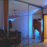 шкаф купе с подсветкой обзор
